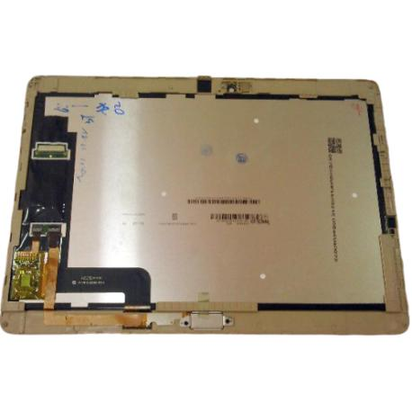 PANTALLA LCD Y TACTIL CON MARCO PARA HUAWEI MEDIAPAD M2 10.1 - DORADA