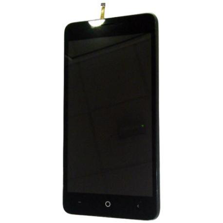 PANTALLA LCD DISPLAY + TACTIL PARA LEAGOO KIIKAA POWER - NEGRO