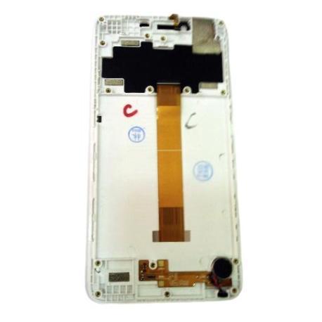PANTALLA LCD DISPLAY + TACTIL PARA LEAGOO KIIKAA POWER - BLANCO