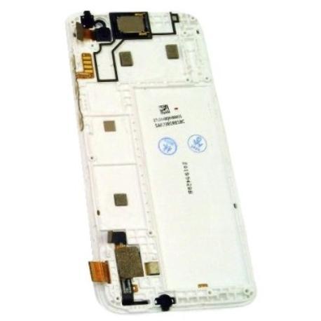 PANTALLA LCD DISPLAY + TACTIL CON MARCO PARA ALCATEL 1 5033Y 5033D 5033X OT5 - BLANCO