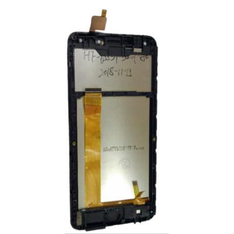 PANTALLA LCD + TACTIL CON MARCO PARA CUBOT NOVA - NEGRA