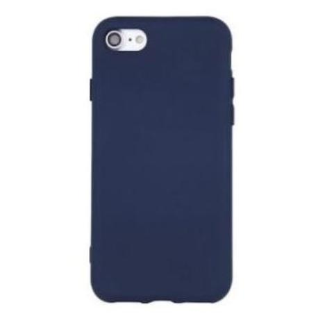 FUNDA DE SILICONA PARA IPHONE XR - AZUL