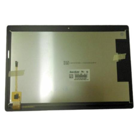 PANTALLA LCD Y TACTIL CON MARCO PLATA PARA LENOVO TAB M10 TB X505F - NEGRO