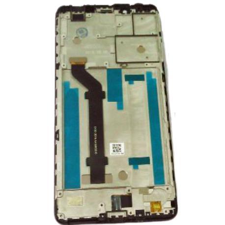 PANTALLA LCD Y TACTIL + MARCO PARA NOKIA 3.1 PLUS - NEGRA