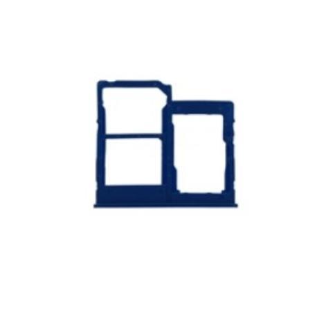 BANDEJA SOPORTE DE SIM PARA SAMSUNG A2 CORE - AZUL