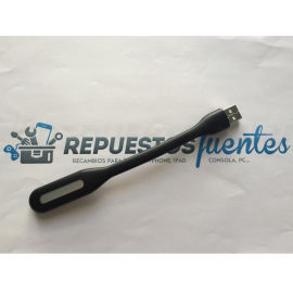 Linterna Flexible USB para tu PC y Portatil