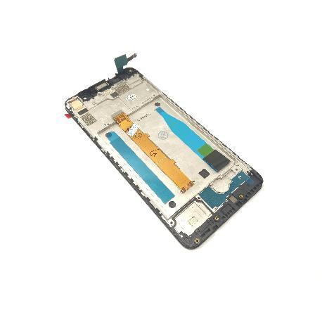 PANTALLA LCD DISPLAY + TACTIL CON MARCO PARA HISENSE H11 - NEGRA