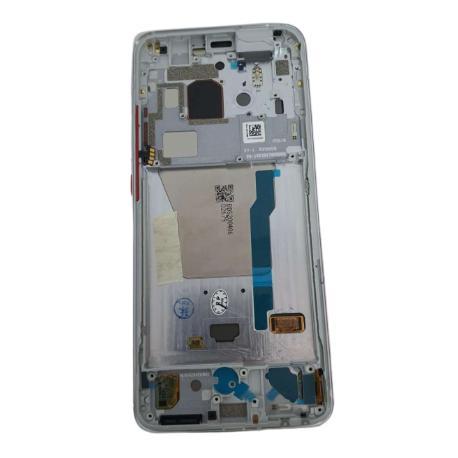 PANTALLA LCD + TACTIL CON MARCO PLATA PARA POCOPHONE F2 PRO / REDMI K30 PRO