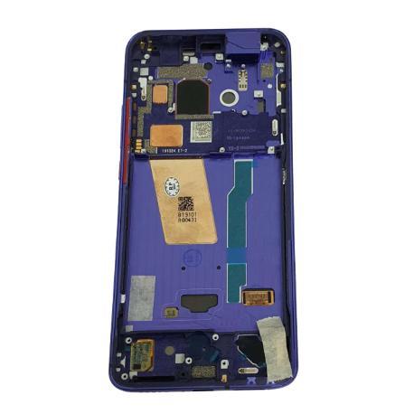 PANTALLA LCD + TACTIL CON MARCO PURPURA PARA POCOPHONE F2 PRO / REDMI K30 PRO