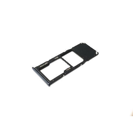 BANDEJA SINGLE SIM Y SD PARA SAMSUNG SM-A715 GALAXY A71 - NEGRA