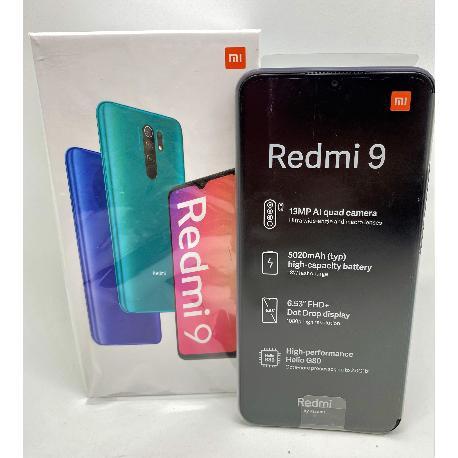 XIAOMI REDMI 9 64GB/4GB GRIS CARBONO - NUEVO A ESTRENAR