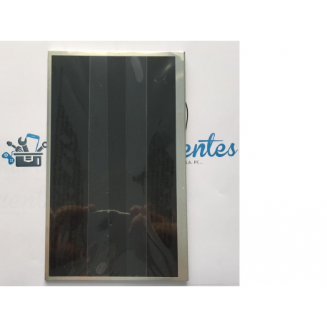"""Pantalla LCD para Sunstech Tab107 de 10.1"""" 40 pin Con cable - Recuperada"""
