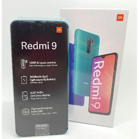 XIAOMI REDMI 9 64GB 4GB GREEN - NUEVO