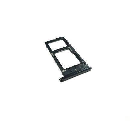 BANDEJA SIM SINGLE Y SD PARA SAMSUNG GALAXY A51, A51 5G, A71, A71 5G - NEGRA