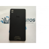 Carcasa Tapa Trasera de Bateria para BQ E5 4G - Negra / Recuperada