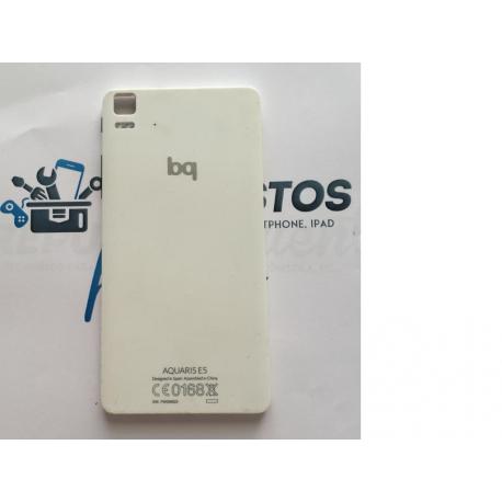 Carcasa Tapa Trasera de Bateria para BQ E5 4G - Blanco / Recuperada
