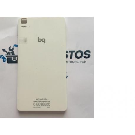 Carcasa Tapa Trasera para BQ E6 - Blanca / Recuperada