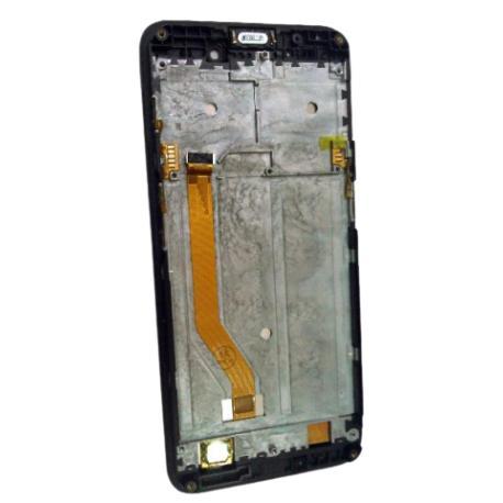 PANTALLA LCD + TACTIL CON MARCO PARA CUBOT QUEST - NARANJA