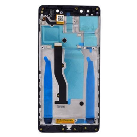 PANTALLA LCD + TACTIL CON MARCO PARA LENOVO K8 NOTE - NEGRA