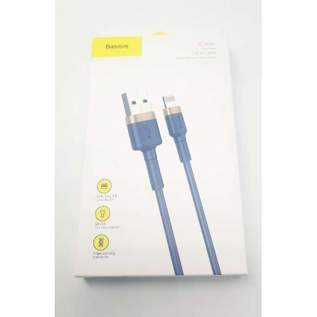 CABLE BASEUS 1.5A  PARA IPHONE LIGHTNING 8-PIN - 2M