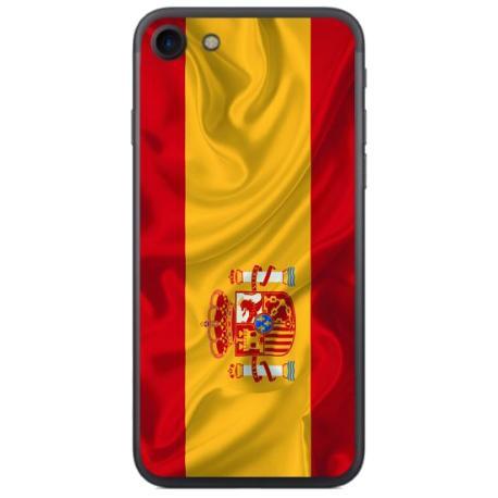 FUNDA TRANSPARENTE TPU PARA IPHONE 7, 8 - BANDERA ESPAÑA