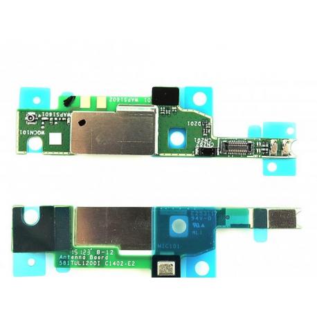 Modulo Microfono + Antena para Xperia M4 Aqua (E2303, E2306), Xperia M4 Aqua Dual (E2312, E2333)