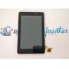 """Pantalla Lcd + tactil con marco Frontal Bq El Cano 7"""" Recuperada"""