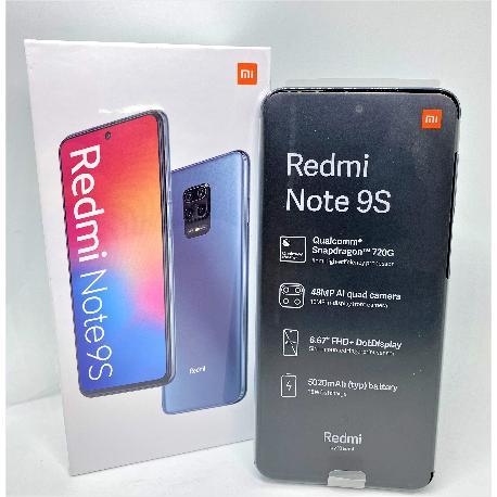 XIAOMI REDMI NOTE 9S 128GB 6GB GLACIER WHITE - NUEVO A ESTRENAR