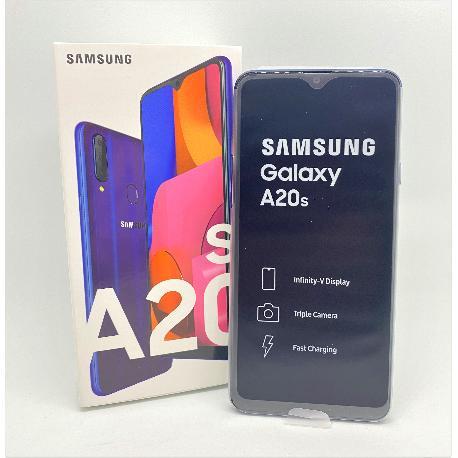 SAMSUNG GALAXY A20S SM-A207F/DS 32GB 3GB AZUL - NUEVO A ESTRENAR