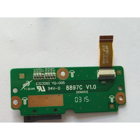"""Modulo con Lector Tarjeta Micro SD para BQ Edison 3 , Fnac 4.0 10"""""""