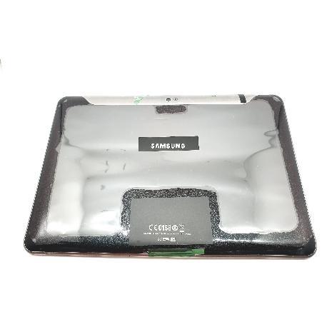 TAPA TRASERA COMPATIBLE PARA SAMSUNG P7100 GALAXY TAB 10.1 - NEGRA