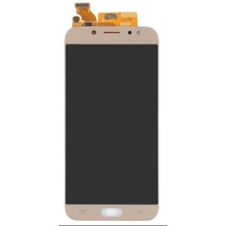 PANTALLA LCD DISPLAY + TACTIL PARA SAMSUNG J730 J7 2017 - ORO COMPATIBLE OLED