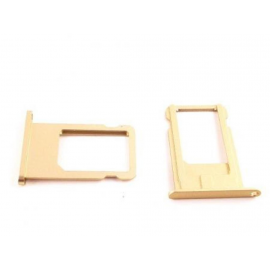 Repuesto de Soporte SIM para iPhone 6+ Plus - Oro