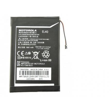Bateria EL40 para Motorola Moto E XT1021 XT1022 XT1025