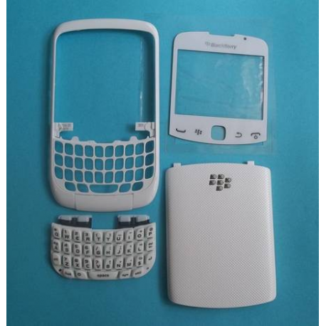 CARCASA BLANCA BLACKBERRY 8500