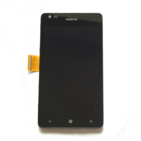 Repuesto Pantalla completa + carcasa frontal Nokia 900 Lumia