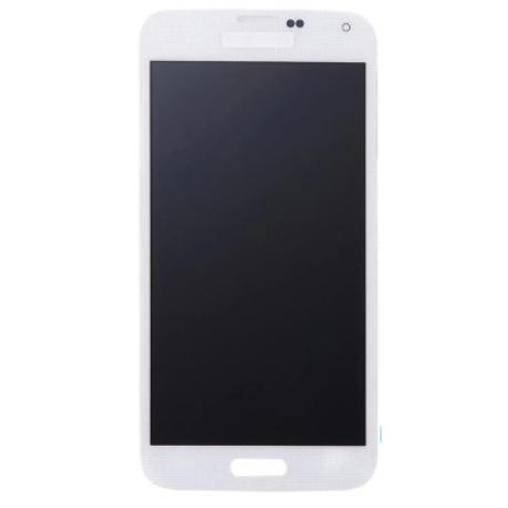 PANTALLA LCD Y TACTIL PARA SAMSUNG GALAXY S5 SM-G900F - BLANCA