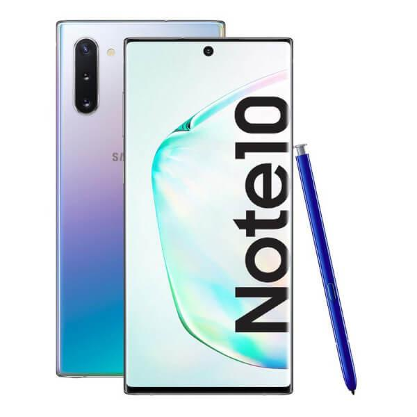 SAMSUNG GALAXY NOTE 10 256GB PLATA - IMPECABLE