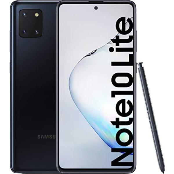 SAMSUNG GALAXY NOTE 10 LITE 128GB 8GB NEGRO - IMPECABLE