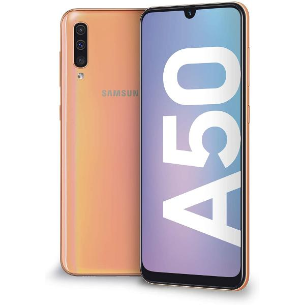 SAMSUNG GALAXY A50 128GB 4GB CORAL - IMPECABLE