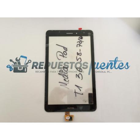 Repuesto Pantalla Tactil para Huawei Mediapad T1 3G S8-701u Honor Pad - Negra