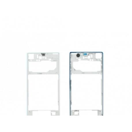 Carcasa Intermedia Original Sony Z1 L39H C6903 - Blanca