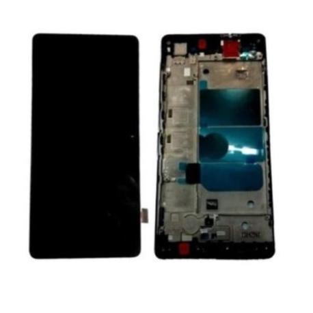 PANTALLA LCD DISPLAY + TACTIL CON MARCOP8 LITE - NEGRA