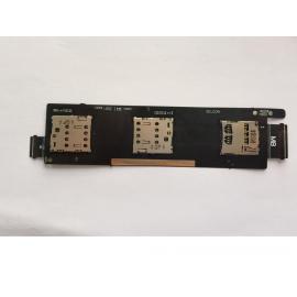 Flex Lector SIM + Lector Tarjeta SD para Asus Zenfone 6, A600CG