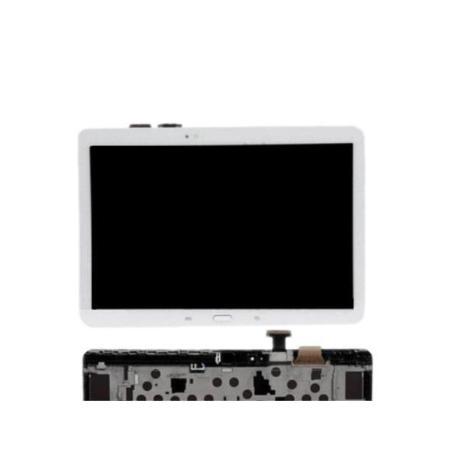 PANTALLA LCD DISPLAY + TACTIL CON MARCOGALAXY NOTE 10.1 P600 P601 P605 - BLANCA