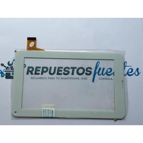 """Pantalla Tactil Universal Tablet china 7"""" SE-DH-0706A1-FPC04 - Blanca"""