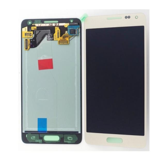 PANTALLA LCD + TACTIL GALAXY ALPHA SM-G850F ORO DORADA