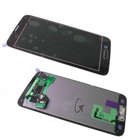 PANTALLA LCD DISPLAY + TACTIL GALAXY S5 I9600 SM-G900 ORO - SERVICE PACK