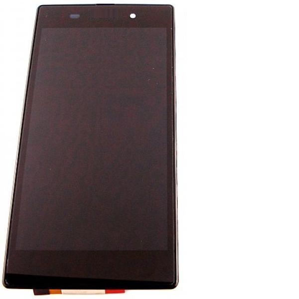 PANTALLA LCD + TACTIL COMPLETA CON MARCO PARAXPERIA Z1 C6902 C6903 - NEGRA