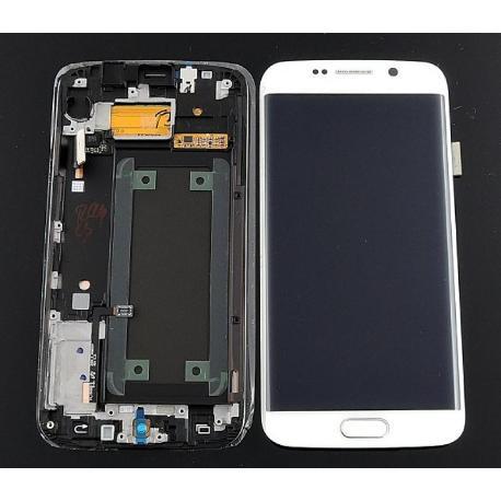 PANTALLA LCD + TACTIL GALAXY S6 EDGE SM-G925 G925F BLANCA